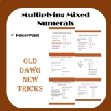 Math - Multiplying Mixed Numerals PowerPoint