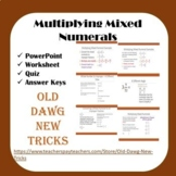 Math - Multiplying Mixed Numerals Bundle