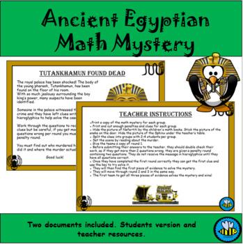 Math Murder Mystery