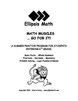 Math Muscles Summer Workbook