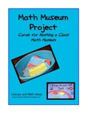 Math Museum Project Cards