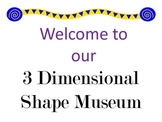 Math Museum for 3D Shapes