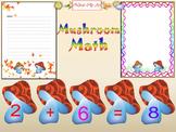 Math - Mushroom - Number - Frames