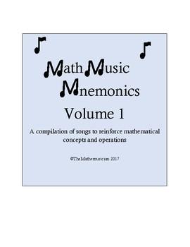 Math Music Mnemonics Vol. 1 (for 4th Grade CC Math)