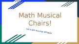 Math Musical Chairs!