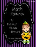 Math Mysteries: A Halloween Candy Mystery