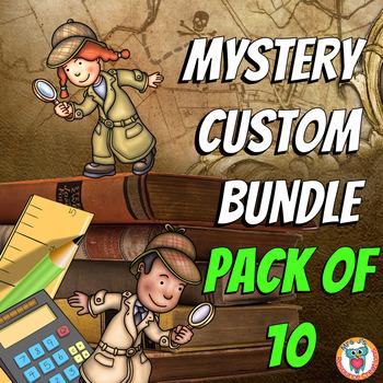 Math Mysteries Custom Bundle (Pack of 10)