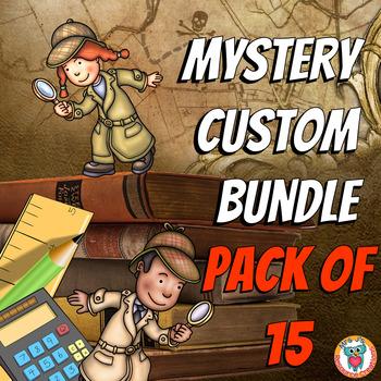 Math Mysteries Custom Bundle (Pack of 15)