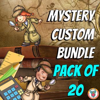 Math Mysteries Custom Bundle (Pack of 20)