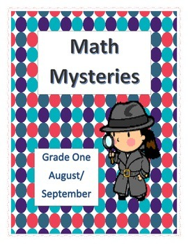 Math Mysteries- Daily Word Problems and Interactive Notebook