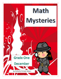 Math Mysteries-Daily Word Problems and Interactive Noteboo