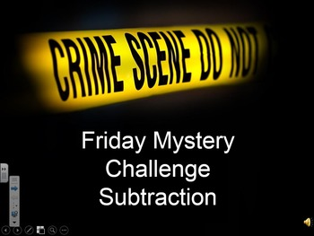 Math Mysteries Subtraction