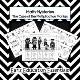 Math Mysteries: Multiplication Game