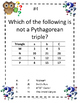 Math Mysteries Using the Pythagorean Theorem and its Converse