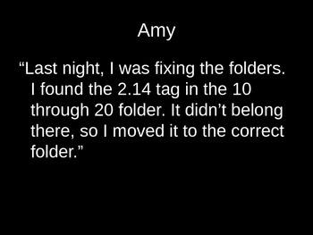Math Mysteries decimal placement