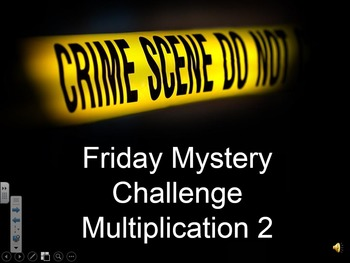 Math Mysteries multiplication 2
