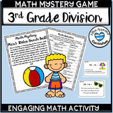 Summer Theme Math Games Division Facts Activity 3rd Grade