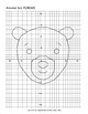 Math: Mystery Animal Graph Picture 180305 Bear (Algebra, Graphing, Coordinates)