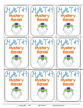 Math Mystery Bands