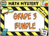 Math Mystery Bundle Grade 3