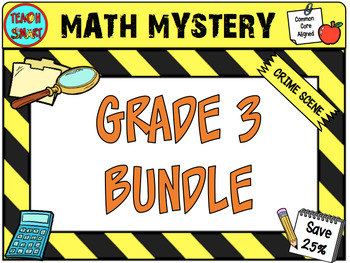 Math Mystery Bundle Grade 3