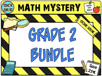 Math Mystery Bundle Grade 2