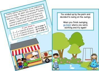 Math Mystery Bundle Grade 2 and 3 - Case of the Trouble in Our Town-CCSS