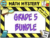 Math Mystery Bundle Grade 5