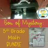 Math Mystery Bundle of Fractions, Decimals, and more!