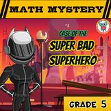 Back to School FREE Math Mystery Activity  {GRADE 5 Mixed