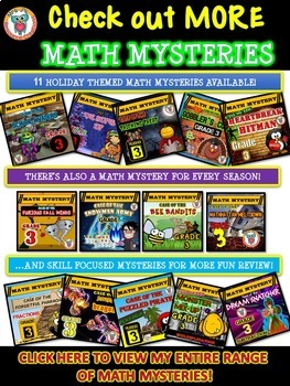 Free Fun Math Activity - Math Mystery: Case of The Super Bad Superhero {Grade 3}
