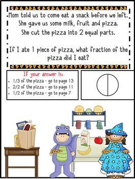 *1st Grade Word Problems - Math Mystery - Case of the Halloween Hullabaloo