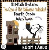 Math Mystery-Case of the Halloween Hullabaloo-Grade 4 - BO
