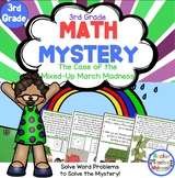 3rd Grade Word Problems - Math Mystery - Case of the Mixed-Up March Madness