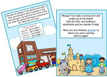 2nd Grade Word Problems - Math Mystery - Case of the Trouble in Our Town