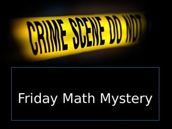 Math Mystery Comparing Fractions 1