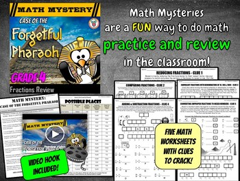 Fractions Review: Equivalent, Adding & Subtracting, reducing, converting & more