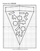 Math: Mystery Graph Picture 180208 Pizza Slice (Algebra, Graphing, Coordinates)