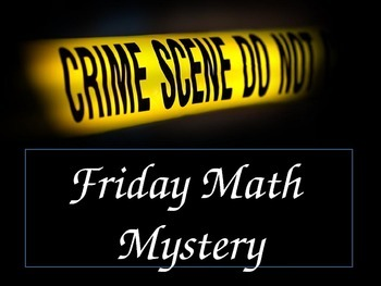 Math Mystery Measurement