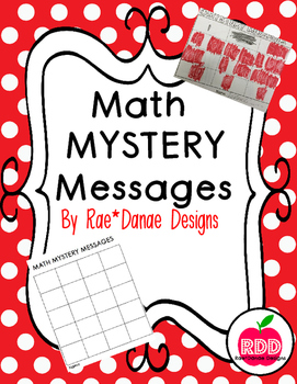 Math Mystery Messages
