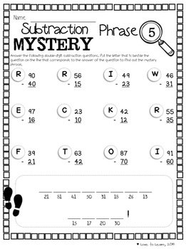 Math Mystery Phrases Pack