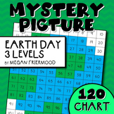 Math Mystery Picture {120 Chart} Earth Day *DIFFERENTIATED*