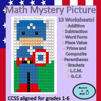 Math Mystery Picture