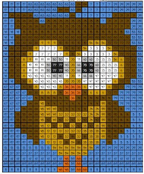 Math Mystery Picture Owl #1 Addition Subtraction Multiplication Division