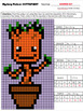 Math Mystery Picture (Tree) - Input Output Tables (2-step equations)