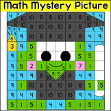 End of the Year Frog Graduate Math Mystery Picture Worksheet