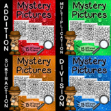 Math Mystery Pictures Bundle