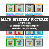Math Mystery Pictures CATALOG
