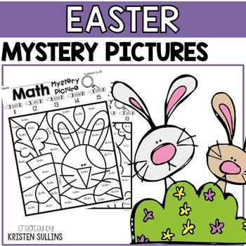 Math Mystery Pictures- Easter Edition