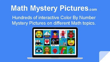 Math Mystery Pictures Online